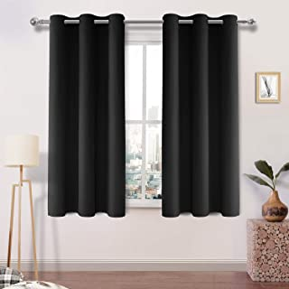 DWCN Blackout Curtains Room Darkening Thermal Insulated Grommet Window Curtain for Bedroom Living Room 42 x 54 Inch 2 Pane...