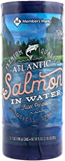 Member's Mark Canned Atlantic Salmon (7 Ounce Can, 5 Pack)