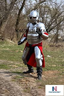 NAUTICALMART Polish Hussar Knight Plate Armor Suit