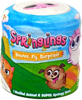 Springlings Surprise Series 1 - Collectable Plush - Bounce, Fly, Surprise!