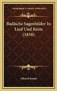 Badische Sagenbilder In Lied Und Reim (1858)