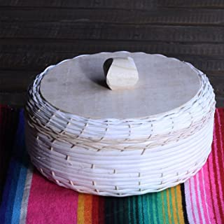 Wicker Tortilla Warmer - Tortillero Tejido de Mimbre- 1 Unit