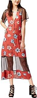 MINKPINK Womens Ornate Midi Dress