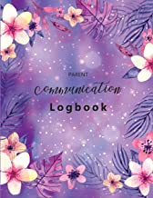 Parent Communication Logbook: Parent Contact Log Book, Communication Sheet Template, Parent Teacher Communication Log, Parent Contact Log Book for 50 Students (Book Log for Classrooms) (Volume 2)