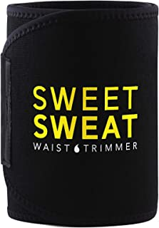 Sports Research Sweet Sweat Premium Waist Trimmer (Yellow Logo) for Men & Women...