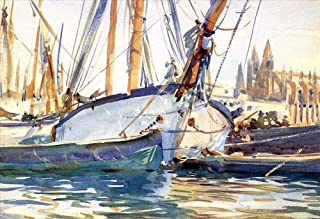 40 Famous Sargent Paintings - AED200-4000 Hand Painted by Academic Artists - Shipping Majorca boat John Singer Sargent - A...