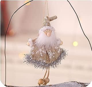 Luuvy-shop 2020 New Year Latest Christmas Angel Dolls Cute Xmas Tree Ornament Noel Deco Christmas Decoration for Home Navidad Kid Gift,A-3