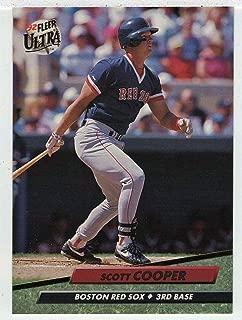 Scott Cooper (Baseball Card) 1992 Fleer Ultra # 312 NM/MT