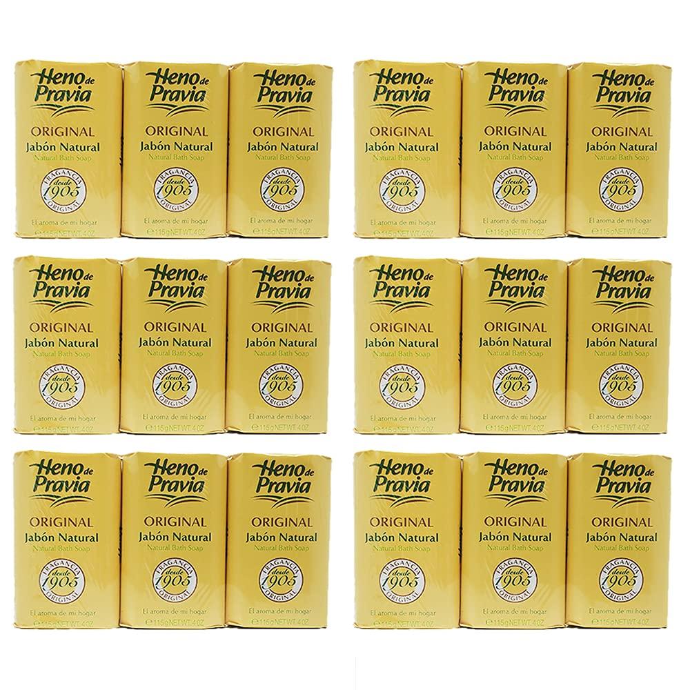 Heno Quality inspection de Pravia Natural Soap 18 Bath free