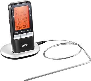 GEFU GE21850 Händi Thermo-Sonde de Cuisson Numérique Mobile Acier Inoxydable Inox 19 x 11,5 x 10,5 cm