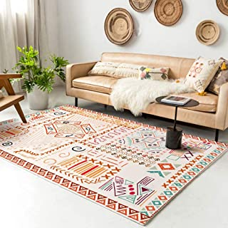 """Rugs Living Room Bedroom Bathroom Rug and Mats Sets Flannel 3D Carpet Chair Mats for Carpeted Floors (60x120,23.6x47.2"""", D17)"""