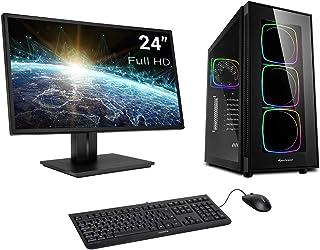 Sedatech Pack PC Gaming Ultimate Intel i7-9700KF 8X 3.6Ghz, Geforce RTX 2070 8Gb, 16Gb RAM DDR4, 500Gb SSD NVMe M.2 PCIe, 3Tb HDD, USB 3.1, WiFi, Bluetooth, Monitor, Teclado/ratón, Win 10