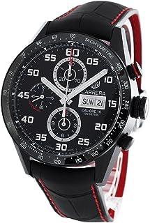 タグホイヤー カレラ クロノグラフ アリゲーターレザー 腕時計 メンズ TAG Heuer CV2A81.FC6237[並行輸入品]