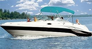 6.25 oz Complete Full Boat Bimini TOP Sunshade TOP Set for Klamath 15 Advantage O/B 1993-2000
