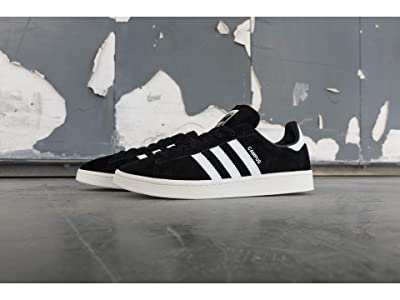 adidas Originals Campus (Black/White/Chalk White) Men