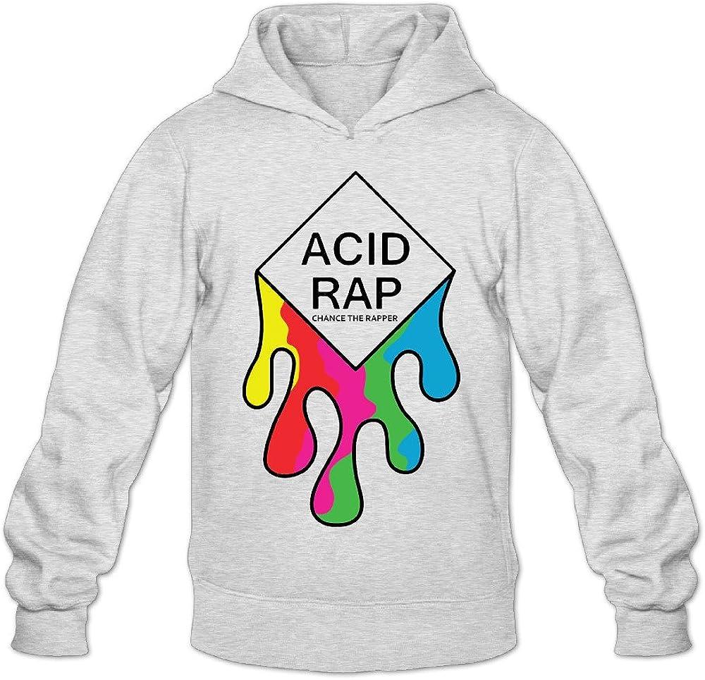 DVPHQ Men's Best Chance Sale item Acid Ash Rapper Sweatshirt Ultra-Cheap Deals Hooded Rap