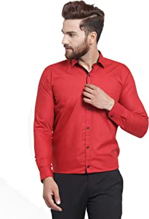 JAINISH Men's Poly Cotton Formal Shirt