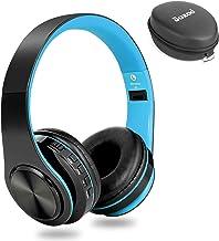 Dozod Bluetooth Over Ear Headphones, Wireless Foldable Hi-Fi Deep Bass Headset with Mic, Wired/SD Card Headphone with Volu...