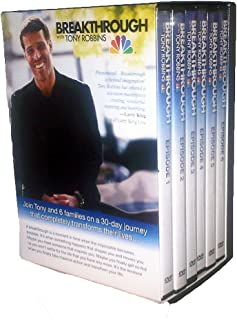 Breakthrough With Tony Robbins DVD Set (6 DVDs- Episodes 1-6)