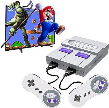 ODCoffee Built-in 821 Classic Games, Mini Retro Console + 2 Controller