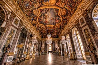Jigsaw Puzzle 1000 Piece Wooden Puzzle palace of versailles hall of mirrors Family Decorations, Unique Birthday Present Su...
