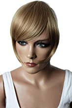 PRETTYSHOP Fringe Bangs Clip in Extension Hair Piece Heat-Resisting Synthetic Fiber dirty blonde #25 F7-2