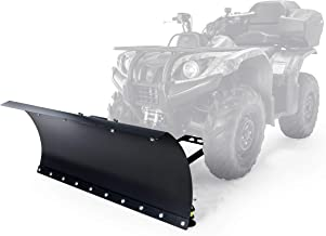 Black Boar Snow Plow Kit ATV Kit-48 with 9-Position Blade Angle, Adjusts to 30 Degrees to Each Side (66016)