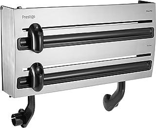 Prestige PR2005 Stainless Steel 3-in-1 Multi Roll Dispenser, White