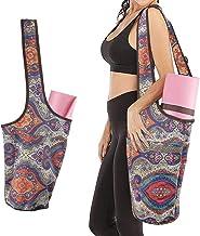 Komake Yoga Bag, Yoga Mat Bag with Large Size Pocket and Zipper Pocket, Multipurpose and Beautiful Yoga Carrier Yoga Holde...