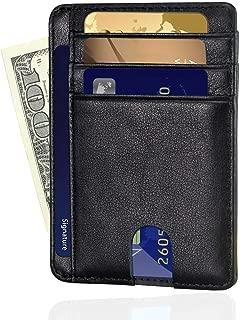 rfid wallet front pocket