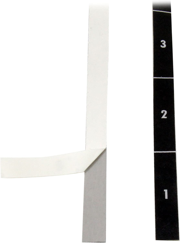 StarTech.com Rack Unit Labels - Server Rack Unit Alignment Strips - Up to 49U - 2-Pack (RKUNITAPE)