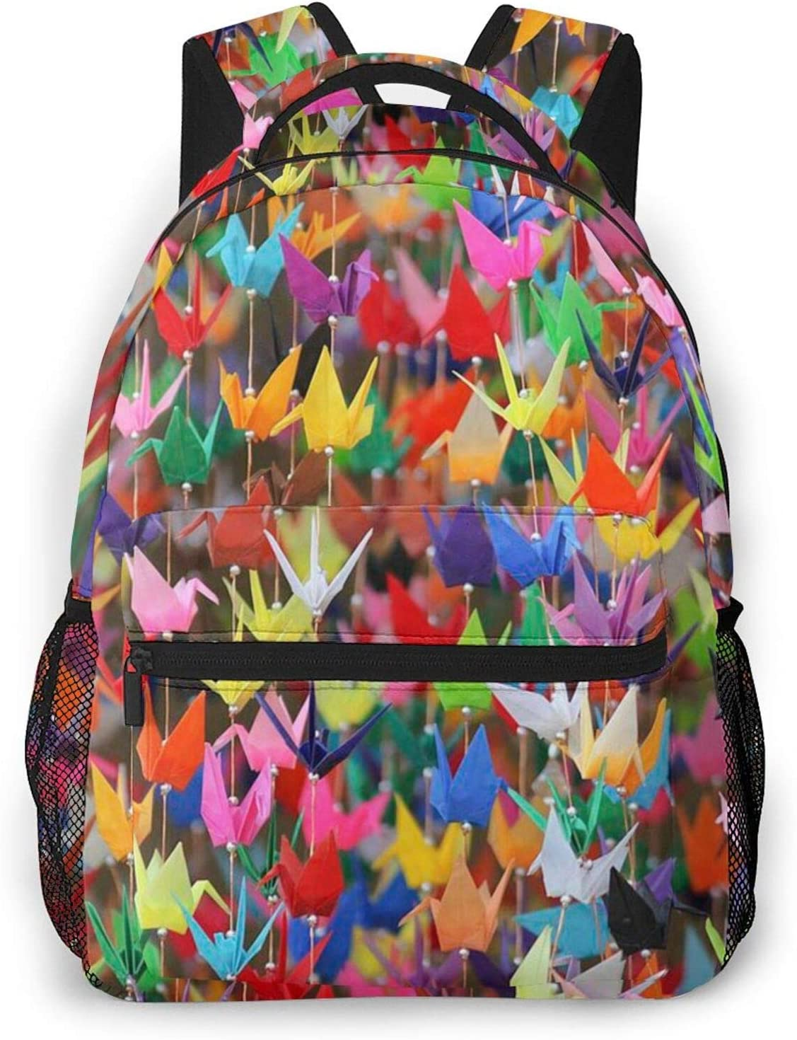 Origami Paper CranesFashion casual backpack Max 53% OFF Max 45% OFF lightweight b travel