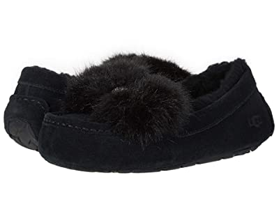 UGG Ansley Puff Bow (Black) Women