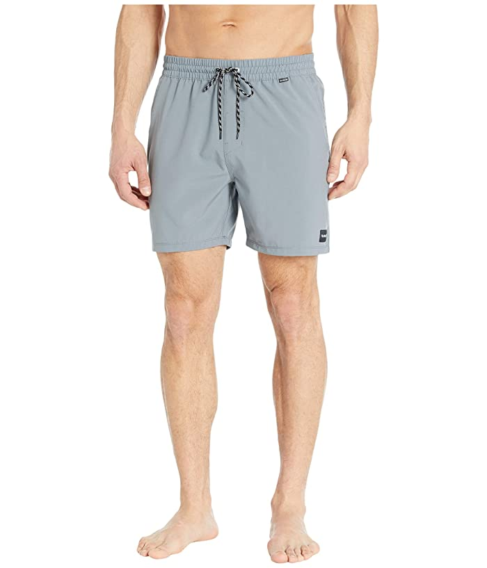 Hurley  17 One Only Volley Boardshorts (Cool Grey) Mens Swimwear