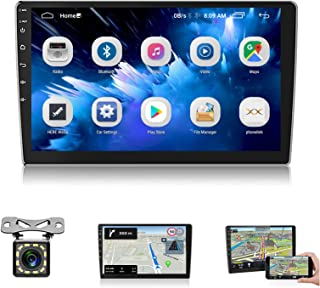 $133 » Sponsored Ad - 10 inch Car Stereo Android Double Din Bluetooth Car Radio with GPS Navigation Mirror Link WiFi FM Radio HD ...