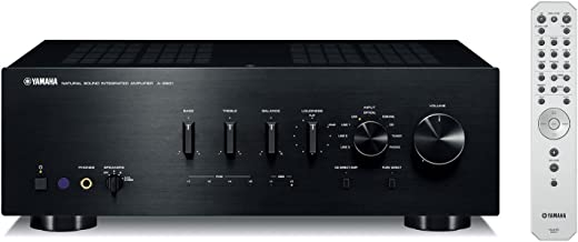 Yamaha A-S801BL Natural Sound Integrated Stereo Amplifier (Black) (Renewed)