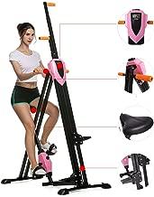 Miageek Steel Alloy Stair Climber Machine, Home Gym Exercise Folding Climbing Machine,Vertical Climbing Exercise Machine, Fitness Stepper Gym, Whole Body Cardio Workout Training