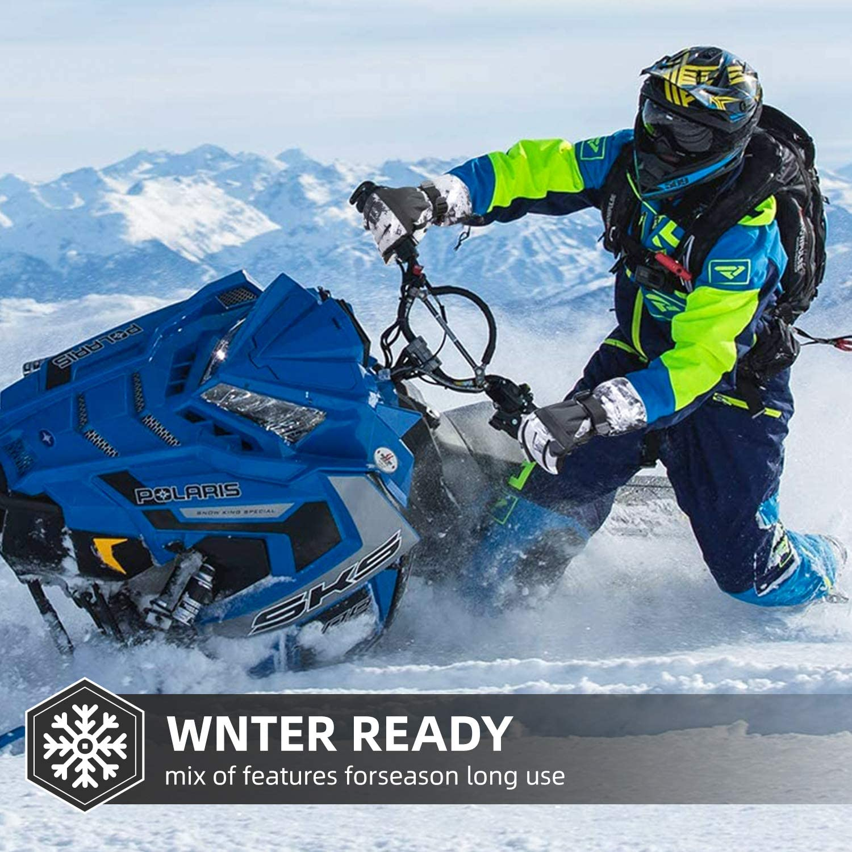 Waterproof Winter Warm Gloves Cold Weather Touchscreen Snow Gloves for Mens BOSONER Ski Snowboard Gloves Womens Kids Skiing,Snowboarding