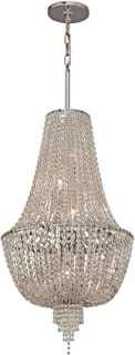 Corbett Lighting 141-45 Inertia 1 Light Wall Sconce in Silver Leaf
