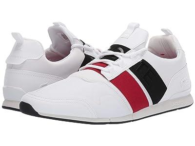 Lacoste Menerva Elite 319 1 US (White/Black) Men