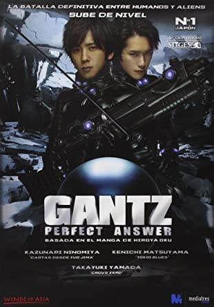 Amazon Com Gantz Perfect Answer 2011 Import Movie European Format Zone 2 Peliculas Y Tv