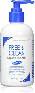 Vanicream Free and Clear Liquid Cleanser 8 Oz (Pack of 2)