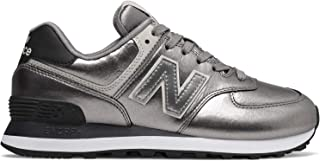 New Balance Women's 574 Classic Sneakers Leather -Black