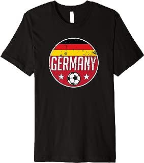 Germany Football Soccer Team Supporter Flag Jersey Berlin Premium T-Shirt
