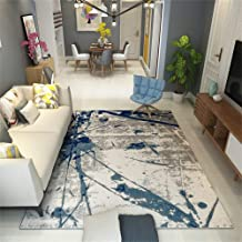 Modern Rugs, Nordic Style Area Rug for Living Dinning Room & Bedroom Computer Chair Modern Sofa Bed Side Table Carpet with...