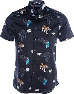 Kochops Short Sleeve Shirt in Navy