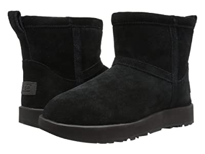 UGG Classic Mini Waterproof (Black) Women