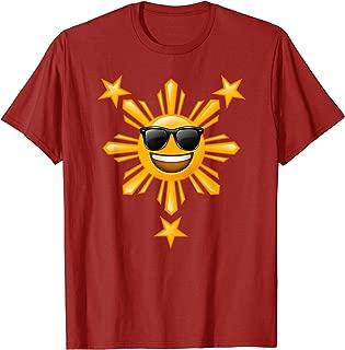 Philippines Mabuhay T shirt | Happy Sun Stars Boys Girls T-Shirt
