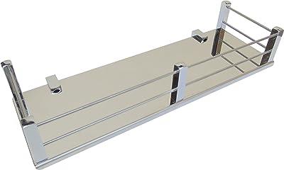 Crown Platinum Stainless Steel 304 Grade Bathroom Multipurpose Shelf