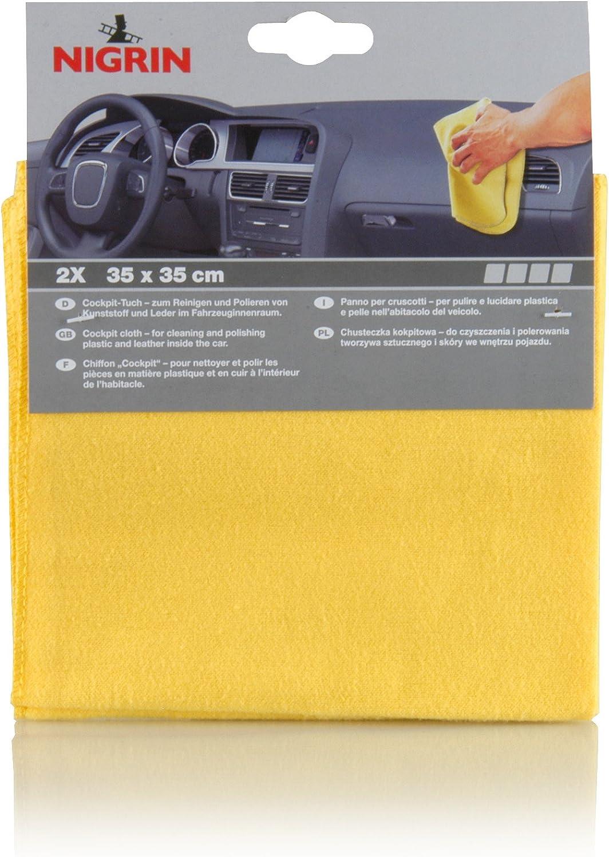 Nigrin 73898 Profi Poliertücher Spenderbox 50 Stücke Auto